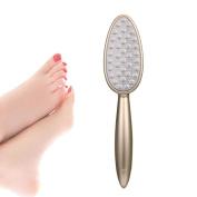 Alonea 1Pcs Metal Foot File File Can Be Biotic Pedicure Callus Makeup Remover