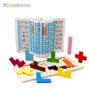 Montessori Building Block Math Toys