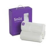 Snuz 3 pc. Crib Bedding Set White - SnuzPod & All Bedside Cribs - Size 35x80cm - 50x90cm