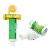 Hunpta Rolling Squeezer Toothpaste Dispenser Tube Sucker Hanging Holder