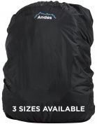 Andes Waterproof Running/Cycling Rucksack Backpack Elasticated Rain Cover
