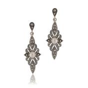 Goldmajor Women Marcasite Dangle & Drop Earrings MER180