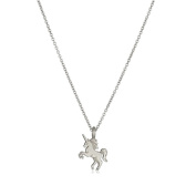 HENGSONG Unicorn Necklace Pendant Necklace With Message Card Chain Necklace Jewellery Gifts, Gold Silver
