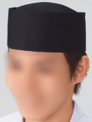 T/C dressing with pounded black sesame hat