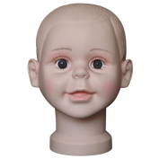 Fabal Child Mannequin Manikin Head Model For Wig Hat Mould Show Stand Display