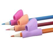 Fullfun Pencil Grip Original Universal Ergonomic Writing Aid for Righties and Lefties,3PCS/Set