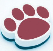 Ashley Productions ASH10012 Magnetic Whiteboard Eraser Maroon