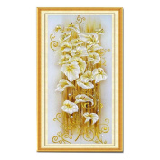 5D Diamond Embroidery Painting DIY Lily Cross Stitch Craft Home Decor