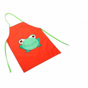 GOOTRADES Kids Child Waterproof Apron Cartoon Frog Printed Painting Cooking Apron