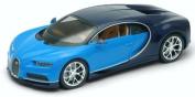 WELLY 24077WBLUE Bugatti Chiron Blue