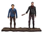 Walking Dead 14518 Tv Negan And Glenn Action Figure, 13cm
