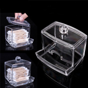 Clear Acrylic Holder Storage Box Cosmetic Makeup Organizer Box With Lid
