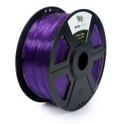 WYZworks PETG 1.75mm ( PURPLE ) Premium 3D Printer Filament - Dimensional Accuracy +/- 0.05mm 1kg / 2.2lb + [ Multiple Colour Options Available ]