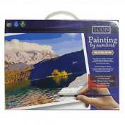 Painting By Numbers Collectors Edition Complete Pack - Landscapes, Size 36cm x 28cm
