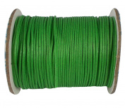Jewellery Making Wax Corduroy DIY Bracelet Necklace Knitting Crafting Beading Green Cord Craft String 1 Roll Thread 1.5 MM
