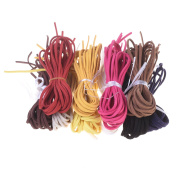 Kloud City 3mm Micro-Fibre Suede Cord Faux Leather Velvet Strip Jewellery Making Beading Craft Thread String