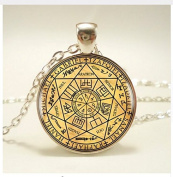 Seals Of The Seven Archangels Pendant, Necklace, For Women Dress Jewellery