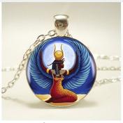 Egyptian Goddess Pendant Necklace ,For Women Dress Jewellery