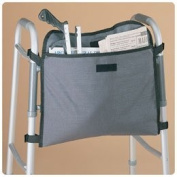 Sammons Preston 081151083 Walker Carryall, Attachable Portable Bag with Pocket for Wheelchairs, Rollators, & Walkers, Wheelchair Accessories, Pouch with Straps