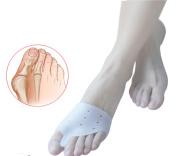1pair=2pcs Hallux Valgus Orthotics Bicyclic Bone Thumb Silicone Big Toe Separator Bunion Corrector