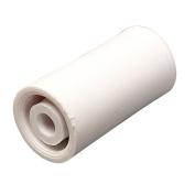 AP Products 013-090W Nylon Bumper - 2.5cm - 0.6cm , White