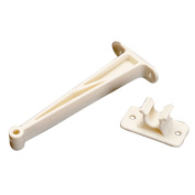 AP Products 013-086 Plastic Door Holdback - 7.6cm , Colonial White