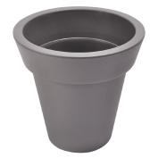 Living & Co Plastic Pot Grey Dark