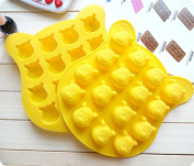 Pooh Face New Silicone Cake Mould, Cake Decoration, Chocolate Baking Mould for parties