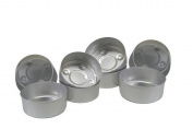 Aluminium Tealight Cups Empty Metal Candle Containers Mould Candle Making