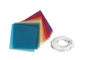 Beeswax Sheets Various Colour Candle making Kit 10 Honeycomb Sheets 20cm x 4 and cotton wick