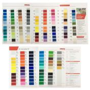ORACAL 651 and 631 Colour Charts Guide Matte Indoor Vinyl Sample Booklet Oracle Oracl