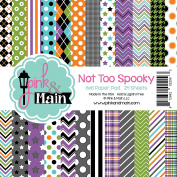 Pink And Main Double-Sided Cardstock 15cm x 15cm 24/Pkg-Not Too Spooky