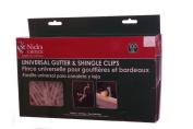 All in One Omni Shingle & Gutter Outdoor Christmas Light Clips Hooks 100 Pack