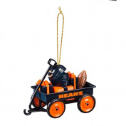Team Waggon Ornament, Chicago Bears