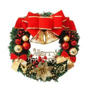 Coerni Premium Christmas Decorative Ornaments Wreath Garland - 3 Pattern