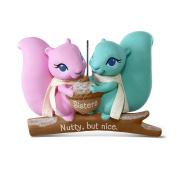 Hallmark Keepsake 2017 Nutty But Nice Sisters Squirrels Christmas Ornament