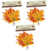 Fall Leaves 30ct Wired - Autumn - Thanksgiving/Halloween Decor