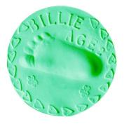 ASTV Baby Growth Record Air Drying Soft Clay Handprint Footprint Imprint Casting Fingerprint