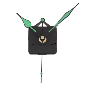 Kicode DIY Repair Parts Movement Kit Clock Movement Mechanism With Green hands For Replacement