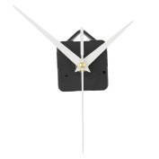 Kicode DIY Repair Parts Movement Kit Clock Movement Mechanism With White hands For Replacement