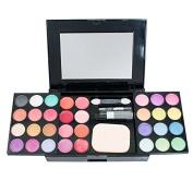 Vinmax Best Pro Eyeshadow Palette Makeup ,Pro Warm Colours Matte Shimmer Eyeshadow Palette Makeup Kit Set + Brush Mirror M2