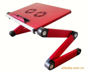 Qiaoba- Bed computer desk __ Notebook Lapdesk aluminium alloy computer desk folding tables bed