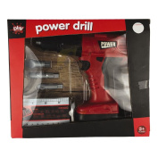 Play Studio Power Drill Play Set 6 Pieces