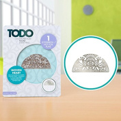 TODO Paper Card Craft Letterpress and Hot Foil Plate - Woven Heart