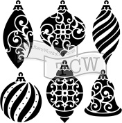 Crafter's Workshop Template 30cm x 30cm -Ornaments