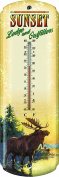 Rivers Edge Nostalgic Tin Thermometer