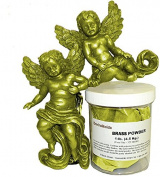 Brass Powder 0.5kg (454 grammes) 320 Mesh +/- For Cold Casting and Inlay Work