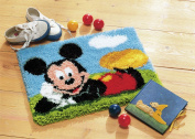 Disney's Mickey Mouse Rug Latch Hook Kit