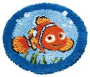 Disney's Finding Nemo 'Nemo' Shaped Rug Latch Hook Kit