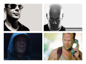 Set of 4 Placemats Bruce Willis
